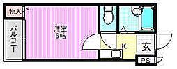 プレアール寝屋川高柳[4階]の間取り