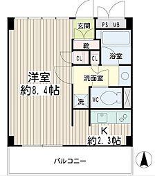 豊岡旭フーガ[3階]の間取り