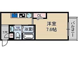 KSコート2[3階]の間取り
