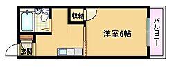メゾンドモデラート[3階]の間取り