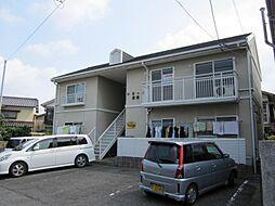 佐賀県唐津市菜畑の賃貸アパートの外観