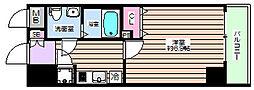 レジュールアッシュ大阪城ノルド[8階]の間取り