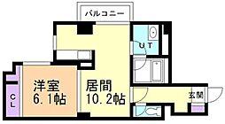 エスポワール204[2階]の間取り