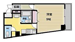 M'プラザ布施弐番館[9階]の間取り