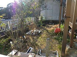 南側のお庭