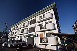 大阪府柏原市法善寺2丁目の賃貸マンションの外観