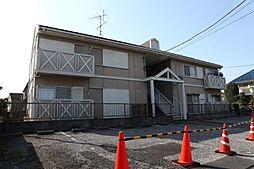 千葉県市川市八幡5丁目の賃貸アパートの外観