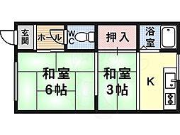 平野駅 2.8万円