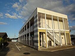 兵庫県加古川市加古川町大野の賃貸アパートの外観