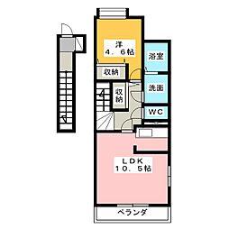 エクセレント2015[2階]の間取り