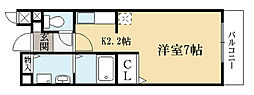 コリネッタ鴻ノ巣[2階]の間取り