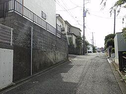 外観:前面道路...
