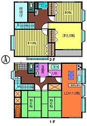 [一戸建] 茨城県古河市大手町 の賃貸【/】の間取り