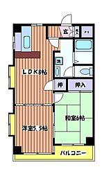 カーサ 大樹[2階]の間取り