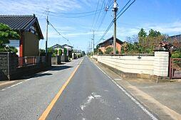 敷地南側の県道...