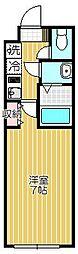 スマートVILLA中延 壱番館[3階]の間取り