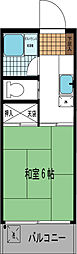 メゾン東大泉[207号室]の間取り