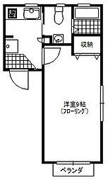 リバーフィールド[1階]の間取り