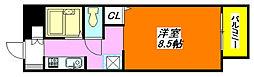 サンビレッジ・デグチIIB棟 203号室[2階]の間取り
