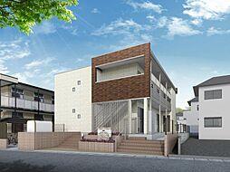 埼玉県川口市戸塚鋏町の賃貸アパートの外観