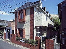 埼玉県草加市瀬崎5丁目の賃貸アパートの外観