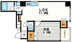 安藤ビルディング[4階]の間取り