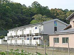 三重県松阪市射和町の賃貸アパートの外観