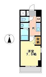 ファーニッシュ太平通[4階]の間取り
