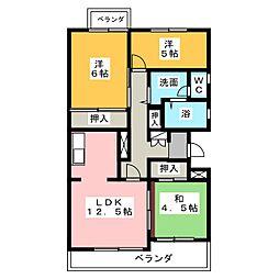 コートハウス30[3階]の間取り