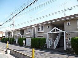東京都武蔵村山市大南3丁目の賃貸アパートの外観