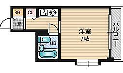 メゾンさくら9[9階]の間取り
