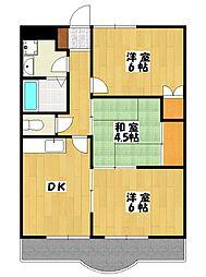 テラッツァ千藤[3階]の間取り