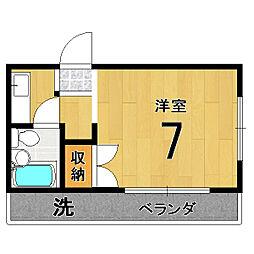 バルーンクラブ2[2E号室]の間取り