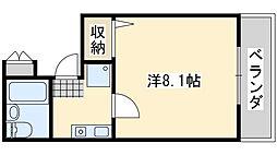 Rinon脇浜[305号室]の間取り