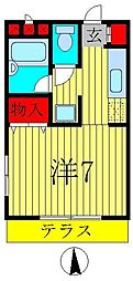 Placer(プラセール)[1階]の間取り