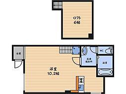 渡辺ビル[1階]の間取り