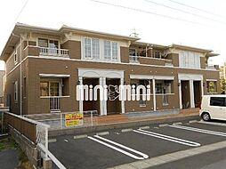 静岡県静岡市清水区興津中町の賃貸アパートの外観