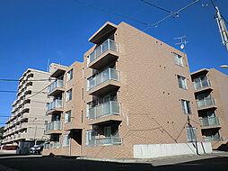 北海道札幌市東区伏古二条4丁目の賃貸マンションの外観