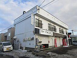 北海道札幌市北区太平七条5丁目の賃貸アパートの外観