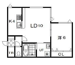 仮)6−22新築[201号室]の間取り