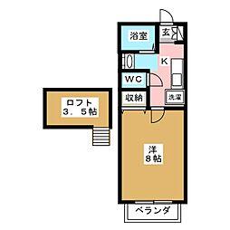 高砂ST壱番館[1階]の間取り