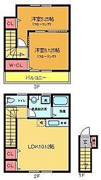 ビオーレ[2階]の間取り
