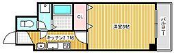 大阪府摂津市別府3丁目の賃貸マンションの間取り