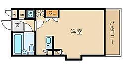 ローズガーデンA36番館[3階]の間取り