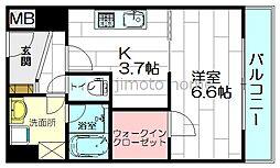 ハイムラポールパート13[2階]の間取り