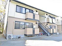 山梨県笛吹市石和町中川の賃貸アパートの外観