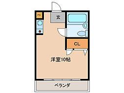 ウイングルートI[2階]の間取り