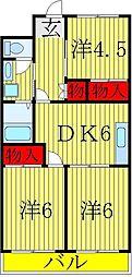 染谷ビル[6階]の間取り