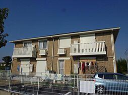 大阪府堺市西区上野芝向ヶ丘町4丁の賃貸アパートの外観