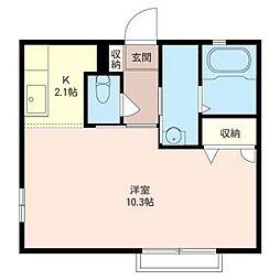 セレーノ湘南I[2階]の間取り